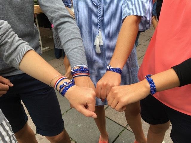 bracelets ancre les 4 mousquetaires