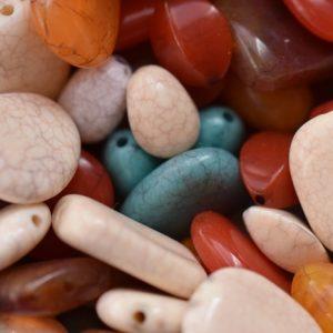 Les perles marbrées