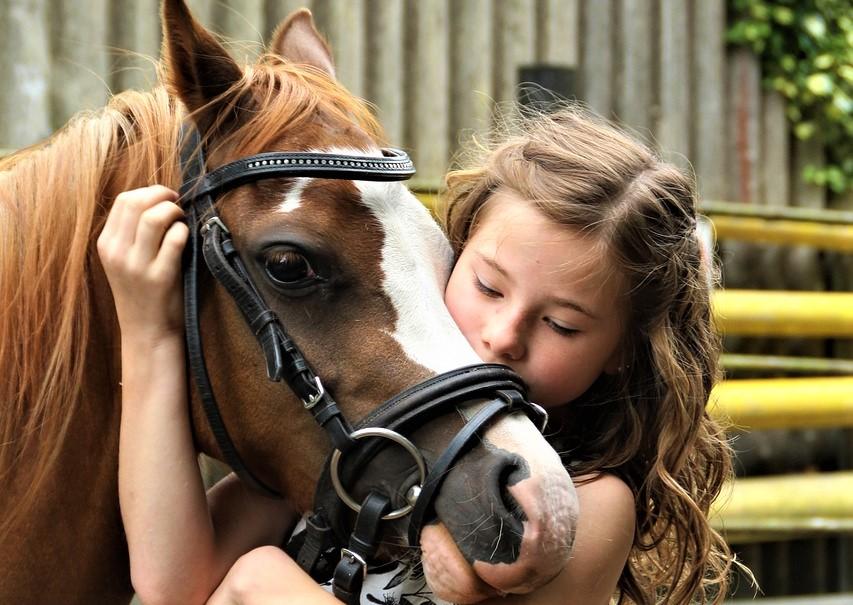 Bijou pour les enfants amis des poneys