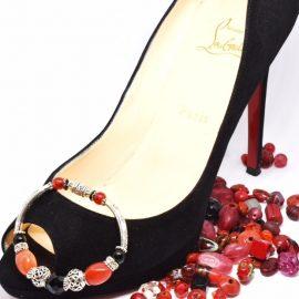 Bracelet celtique red &black