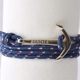 bracelet ancre marin viking