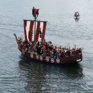 les vikings à bord