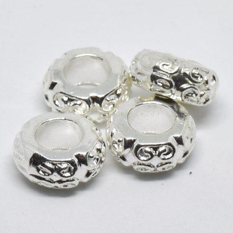 rondelle métal guilloché