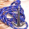 ancre bleue de moussaillon