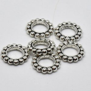 anneaux en roue de métal