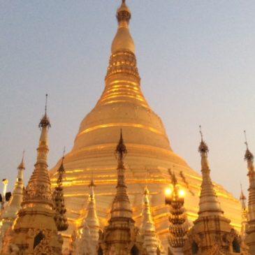 Birmanie bijou d'or