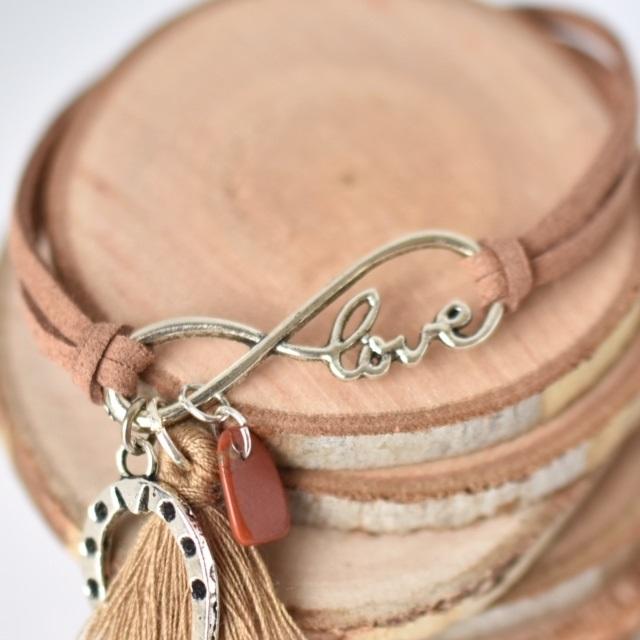 bracelet enfant poney