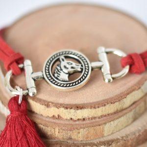bracelet équitation avec étrier