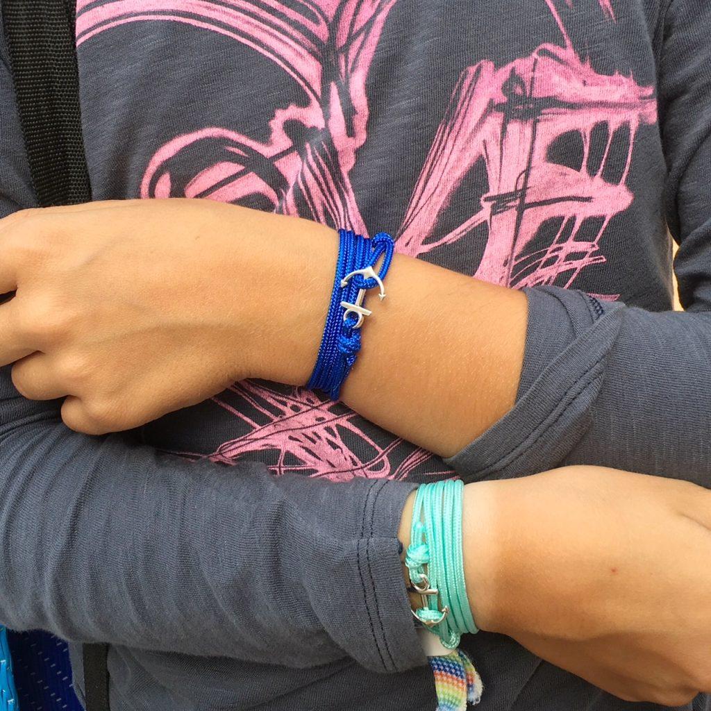 les ancres bracelets