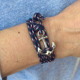 ancre Breizh en bracelet marin