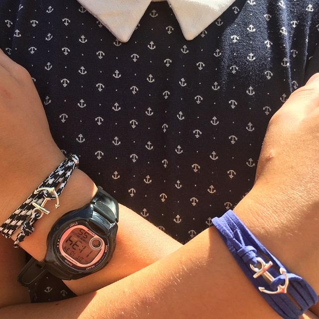 les bracelets ancre