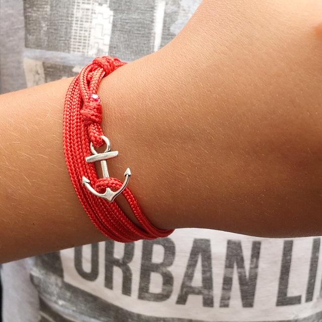 rouge et argent de marin