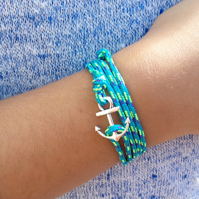 ancre turquoise