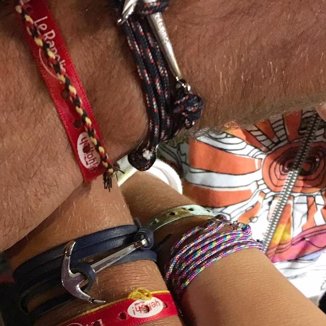 les bracelets marins de la famille