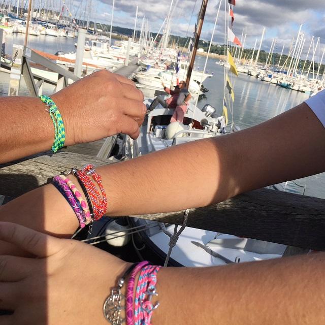 trio des ancres en bijoux bretons