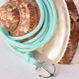 drisse turquoise pour joli bracelet marin