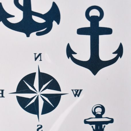 tatouage d'ancre de mer