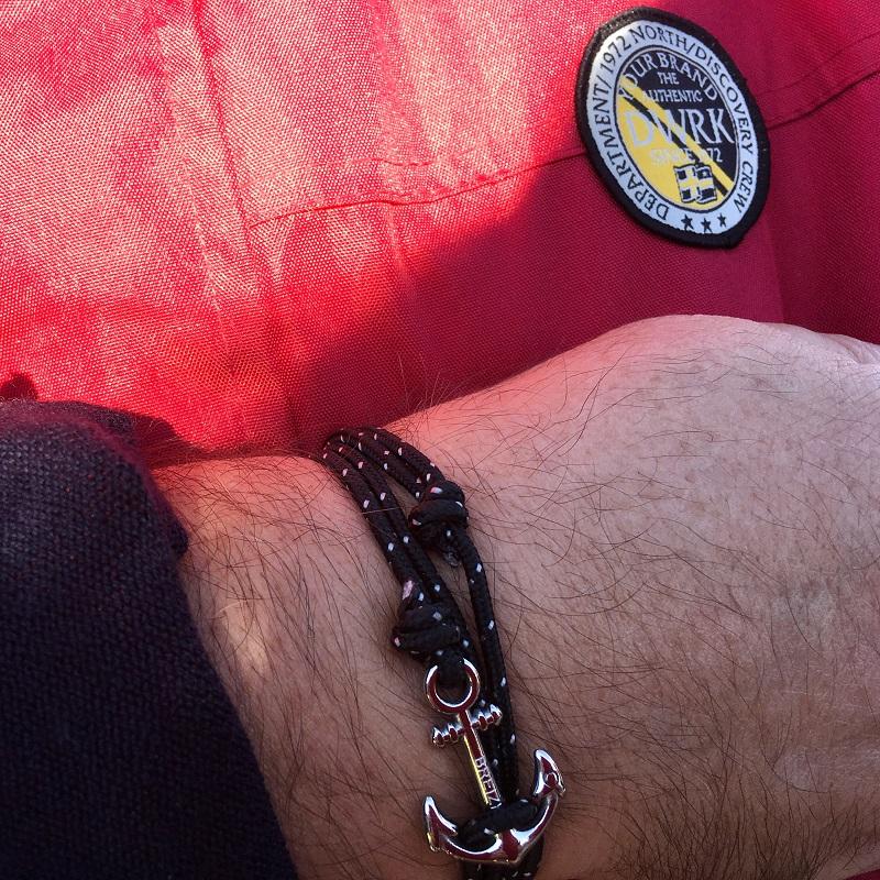 belle ancre de breizh pour un bracelet marin
