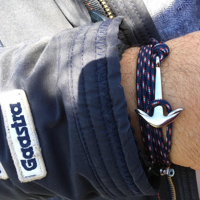 belle ancre de bretagne pour un bracelet marin