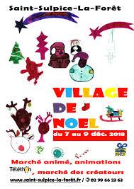 saint-sulpice-la-foret a organisé un sympathique marché des créateurs