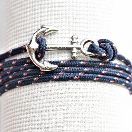 ancre acier breizh bleu marine