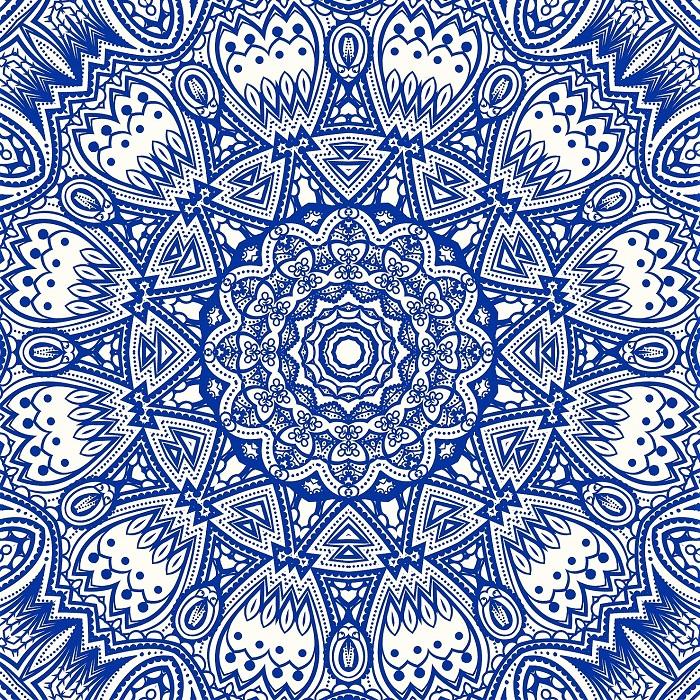 couleur bleu franc de chakra et bonheur