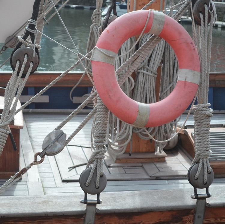 cordes et drisses de marin