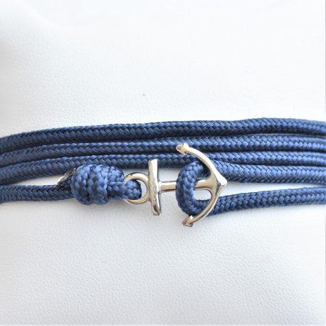 ancre bleu de mer