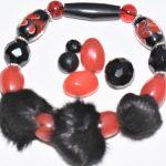 douceur de fourrure noire