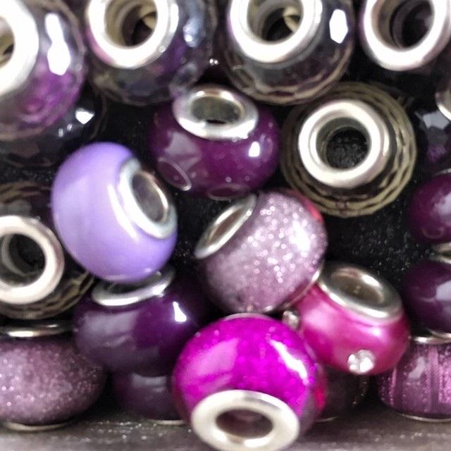 ce week-end grandes perles style pandore