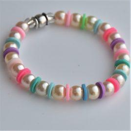 bracelet enfant couleur de sorbet