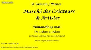 Saint Samson sur rance  le 19 mai.