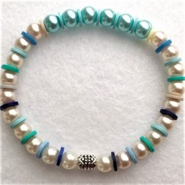 sorbet bracelet avec perles acidulé