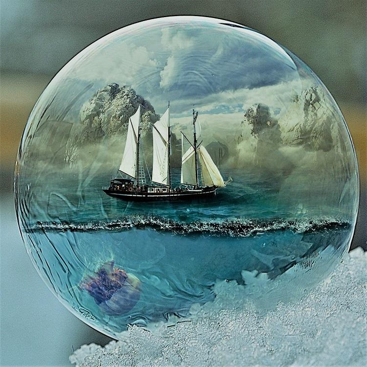 le monde de l'homme navigateur