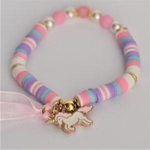 rondelles rose bonbon pour une jolie licorne