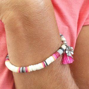heishi pour ce bracelet vu sur instagram
