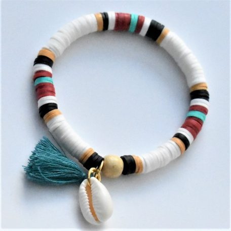 joli coquillage cauri pour un bracelet nature