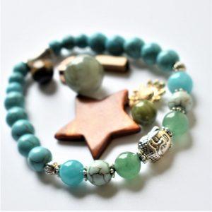 jade boudha et pierres