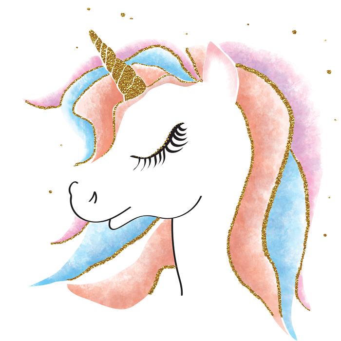 pastel pour une licorne