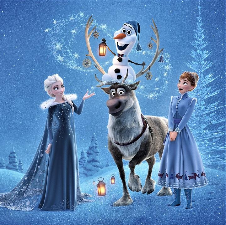 La reine des neiges de Walt Disney
