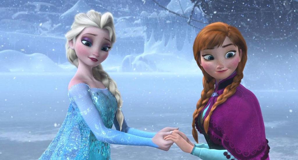 Extrait de la reine des neiges de W.Disney
