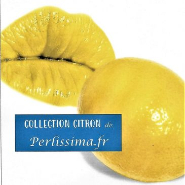 citron en collection de bracelets