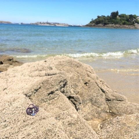 déconfinement sur rocher des bracelets marins