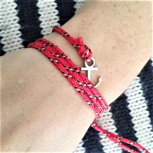 tuto de bracelet marin breton