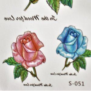 tatouage de roses