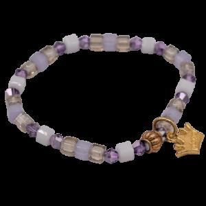 violette en bracelet enfant