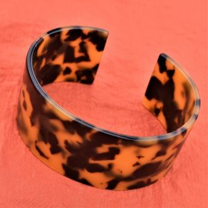 leopard en resine