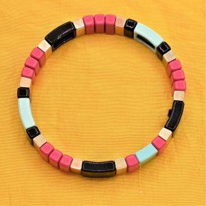 cubisme pour un bracelet timide